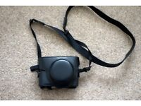 SONY RX100 LEATHER CAMERA CASE