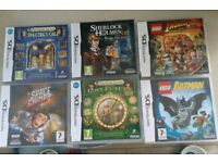 6 x Nintendo ds games