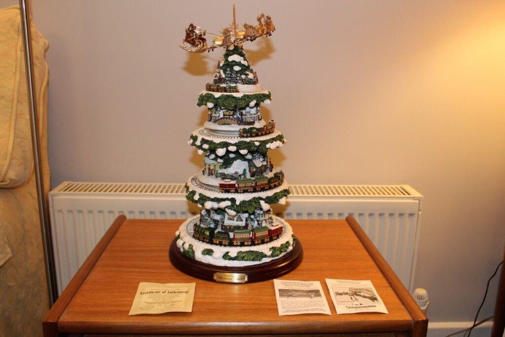 Thomas Kinkade Wonderland Express Christmas Tree In Wareham