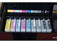 Epson R3000 refillable cartridges and ink set kit
