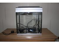 Small 20litre Fish Tank and Guide to Setting up a Tropical Aquarium Book - ideal for Starter Tank