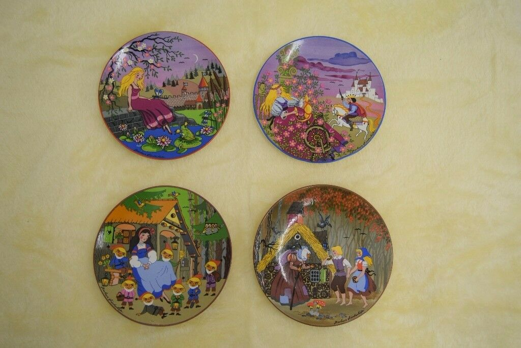 Poole Pottery Collectable Plate Set Sold to raise funds for Westgate Ark Cat Homing Centre