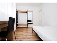 Excellent double room beside Oval tube with views of the park Available!