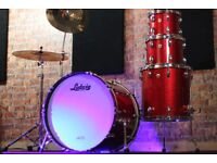 Ludwig Classic Maple Red Sparkle drum Kit - 4 piece shell pack