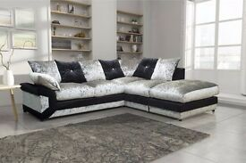 Cheapest Price-- Jumbo Cord / Crush Velvet-- Dino Corner / 3+2 Sofa-- Same Day Delivery-- Brand New