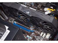 Nvidia GTX 1050ti ASUS ROG STRIX EDITION 4GB GDDR5