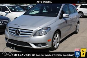 2013 MERCEDES B250, TOIT PANORAMIQUE, BLUETOOTH, CLEAN CARPROOF