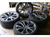 New BMW M 21 inches R21 X5 X6 F15 F85 tire rims complete wheel 21x10 ET40 21x11 ET38 UK delivery
