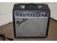 15 Watt Guitar Amplifier - Fender Model Frontman 15G (PAT Tested)