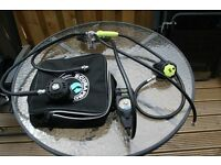 Diving regulator Apex TX40 + Scubapro R330 Octo, UWATEC double guage and suit inflation hoze