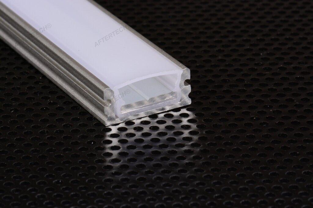 Strisce Led Impermeabili.1807w Profilo Impermeabile Alluminio 1m Per Strisce Strip