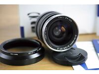 Zeiss 28mm f2 ZF.2 Nikon mount; boxed and Exc condition