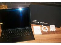 "£300 mint Samsung Galaxy Tab Pro S 128gb ssd SM-W703 Black 12"" Laptop Tablet PC pick my home chatham"