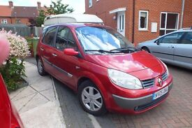 1st Registered May 2005, good runner and 12 months MOT with tow bar & electrics