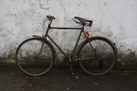 Vintage Bicycle, Rudge 4-speed, Barn-Find/Project