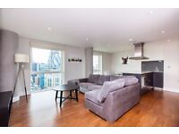+FANTASTIC 2 BED 2 BATH 20TH FLOOR APARTMENT W/ PARKING IN THE CRAWFORD BUILDING ALDGATE E1