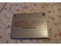 Incomplete Metal Gear Solid Limited Edition Premium Package
