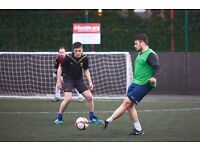 5-a-side .org are starting new football leagues across London. Get involved!