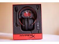 HyperX Cloud II headphones (MINT condition)