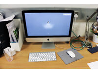 Apple iMac 21.5-Inch + Keyboard + Mouse - 10 months old