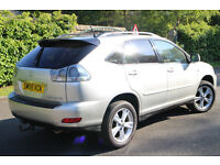 2005 LEXUS RX400 H SE-L CVT HYBRID ELECTRIC 4x4 FSH SAT NAV LEATHER BLUETOOTH *1 YEAR MOT *£4995ono*