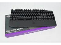 Cooler Master MK750 Gaming Keyboard - Cherry MX Brown - Barely used