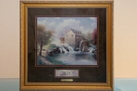 "Thomas Kinkade ""Blessings of Summer"" Framed Print"