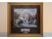 """Thomas Kinkade """"Blessings of Summer"""" Framed Print"""