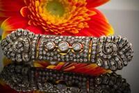 Antik Brosche Nadel mit Diamanten 2 Carat in 750er Gold 18 Karat Nordrhein-Westfalen - Wegberg Vorschau