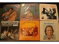Lot of 129 Vinyl records