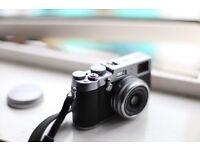 Fujifilm X100T Compact Digital Camera Silver 16.3 MP *MINT CONDITION*