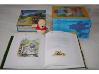 WINNIE THE POOH BUNDLE 'Out and about with Pooh' books, toy & Complete Story / Poem Collection