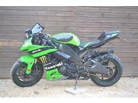 2008 Kawasaki zx10r monster edition moto gp replica