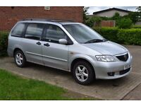 MAZDA MPV 2.0 DIESEL SILVER 7 SEATERS SPARE OR REPAIR