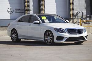 2016 Mercedes-Benz S63 AMG 4MATIC Exclusive Edition w/IDP & Nigh