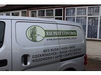 RM Pest Control Yorkshire and Lancashire - Fully Qualified Same Day Service to Treat Mice, Bedbugs