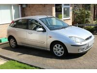 FORD FOCUS 1.8 GHIA, VEHICLE WONT NOW START - SPARES AND REPAIRS