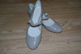 Office Nude Dolly Shoes. Size 8 (UK)