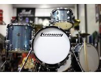 Ludwig Questlove Breakbeats Drum Kit - Azure Blue