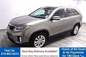 2014 Kia Sorento EX! LEATHER! PANO SUNROOF! BLUETOOTH! HEATED SE