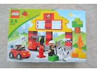 LEGO DUPLO MY FIRST FIRE STATION – MODEL No 6138 EXCELLENT CONDITION