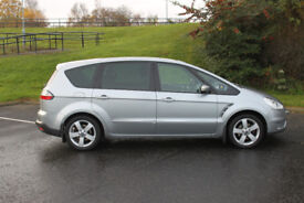 Ford S Max Titanium, 2007, 1.8 TDi, Silver, Top of the range, 7 Seater MPV family car, 6 Speed box