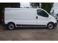 Vauxhall Vivaro 2900 lwb cdti 2008-58-reg, 79,000 miles, 1995cc turbo diesel, new MOT upon purchase