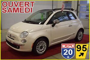 2015 Fiat 500C LOUNGE * CABRIOLET * * CUIR