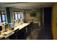 Desk Spaces Available 300pcm in Bright and Airy Studio near Whitechapel / Brick Lane