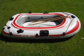 Inflatable Dinghy (Bestway Marine Scout 300) 234cm x 135cm