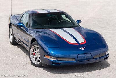 2004 Blue Chevrolet Corvette Z06  | C5 Corvette Photo 1