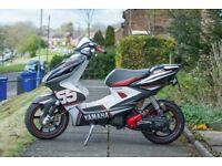 Yamaha Aerox 55 Edition , 49cc with a 70cc Kit