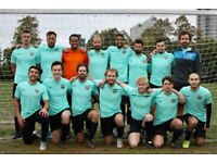 NEW PLAYERS wanted for 11 aside football team, free football JOIN LONDON FOOTBALL TEAM