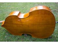 Good quality 3/4 Double Bass